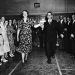 Eleanor Roosevelt Dancing in Arthurdale, WV