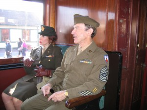 The Reenactor Post » Troops and trains – Strasburg PA 2009